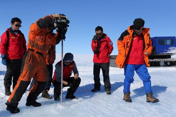 中國科考隊發現藍冰機場選址區 在哪兒?