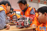 郑州:机器人竞赛