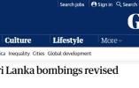 斯里兰卡调整恐袭遇难人数:爆炸造成约253人死亡