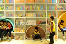 24小时自助图书馆成摆设?很少有人用