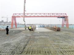 郑州南站地铁项目 车站主体结构完工