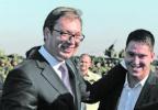 塞尔维亚总统之子检测呈阳性 总统:儿子你会赢的