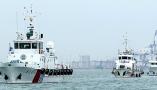 山东烟台举行海上防控联合执法行动