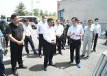 河南省副省长武国定到鹤壁市检查海河流域防汛工作