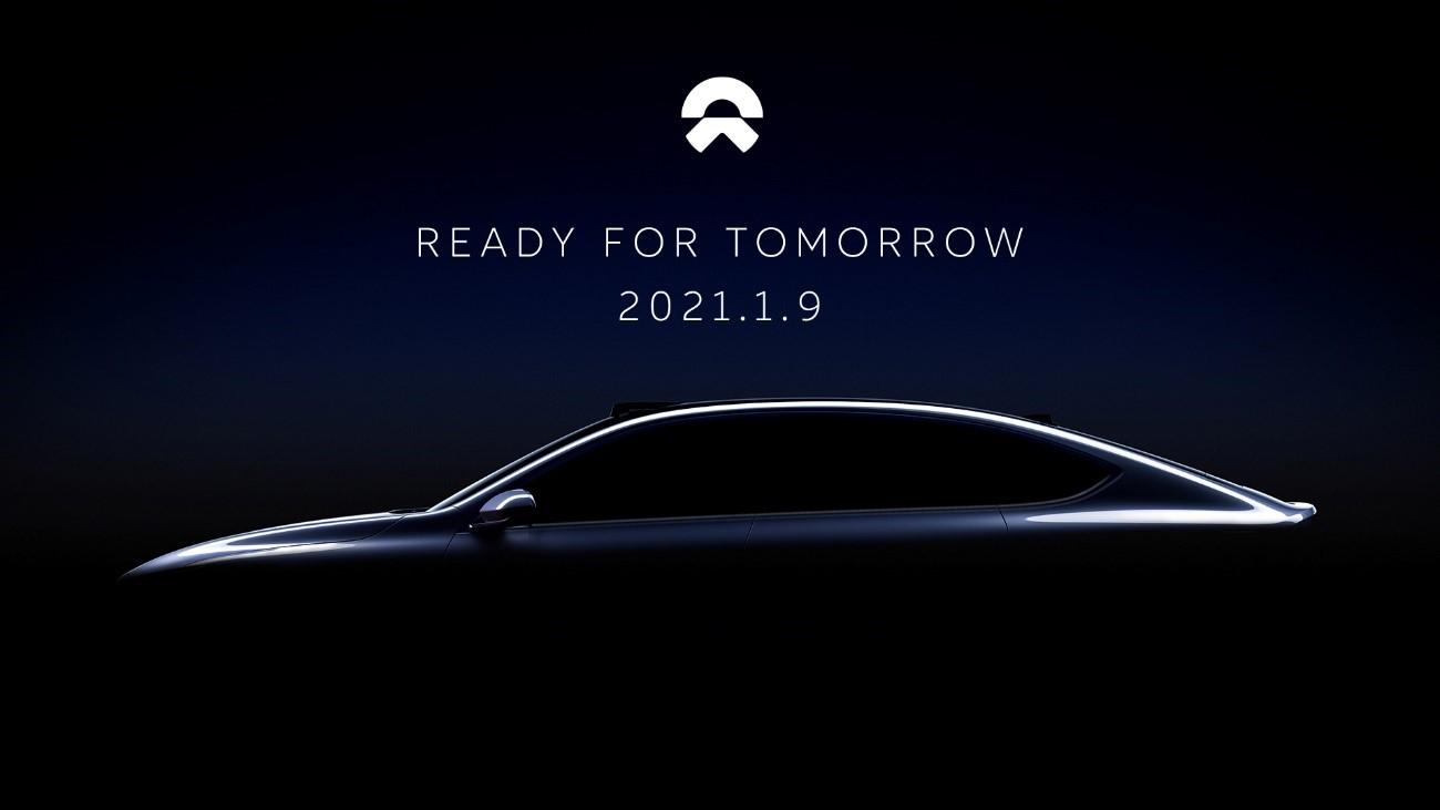 蔚来轿车预告图发布 将于1月9日NIO Day发布