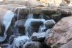 组图:元旦走起!崂山九水迎来最佳冰瀑观赏季