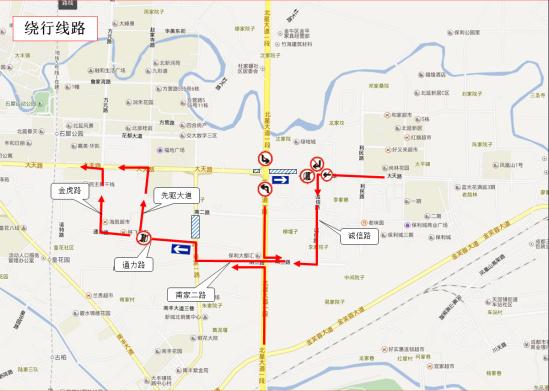 10月10日报道记者从成都市交管局获悉,为保障北星大道大天路口桥高清图片