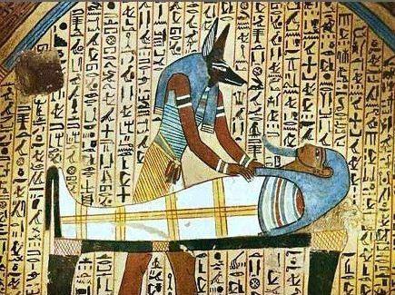 """古埃及女子下体献给""""金牛""""图片"""