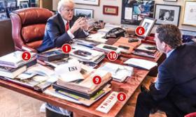 特朗普办公室曝光:这个物件和中国有关
