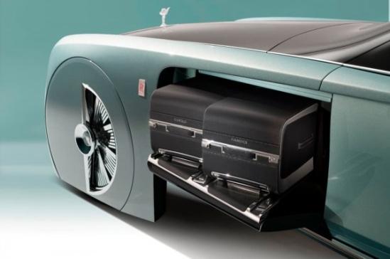 劳斯莱斯首款概念车发布:梦幻奢华