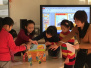 东城区第一图书馆携手少年宫开展戏剧绘画活动
