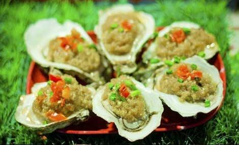 常茗海鲜风味烤生蚝