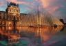 卢浮宫金字塔入口改造完毕投入使用