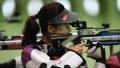 女子10米气步枪预赛 杜丽携易思玲携手晋级
