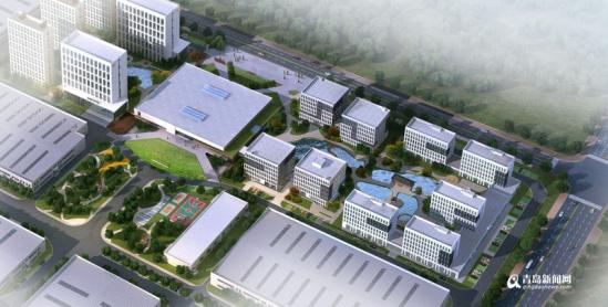"""""""我们青岛这家智能家居产业园完全建成后将成为亚洲最大的智能家居图片"""