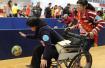 残健同乐趣味运动会福州举行 两百残疾人运动员乐在其中