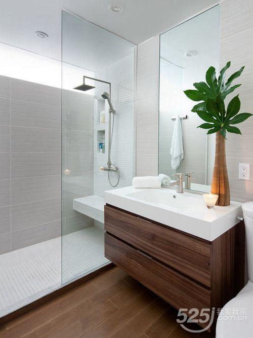 Gabinetes Para Baño St Paul:小户型的卫浴间设计可以参照这一款,简约方正没有