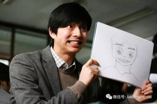 大家的老公孔刘就是最好的例子啊~早年间的他留着很不羁的发型(但腹肌图片