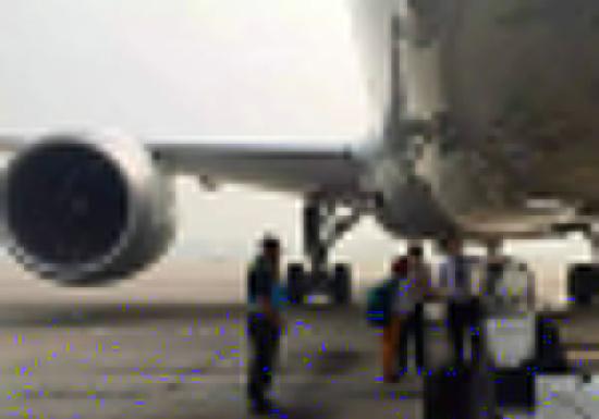 北京机场一对夫妻闯入跑道阻拦飞机