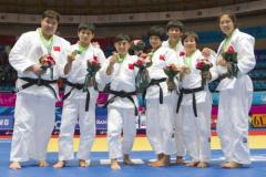 中国柔道队即将出征世锦赛优势仍在女子大级别