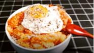 早饭做个炒饭吧, 简单的辣白菜炒饭