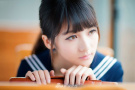 清纯的日本高中妹子