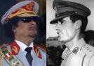 卡扎菲青年老年反差太大