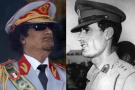 青年时的卡扎菲超帅