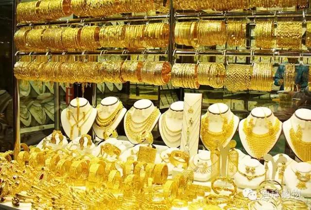 揭秘迪拜黄金一条街