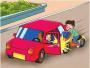 沈阳一驾驶员开车门没看后方 撞倒快递小哥引发事故