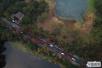 航拍杭州西湖景区