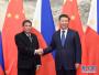 习近平在越南岘港会见菲律宾总统杜特尔特