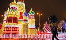 莫斯科点亮圣诞灯饰