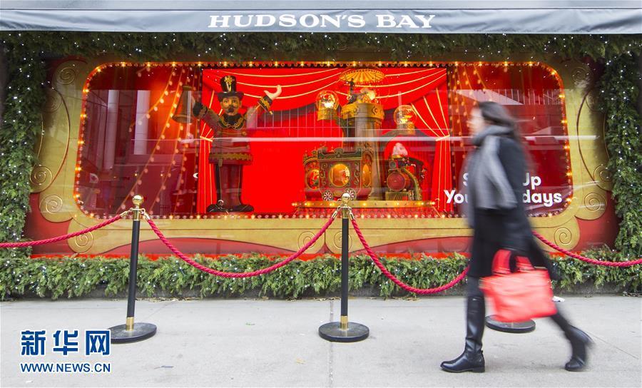 多伦多推圣诞主题橱窗秀