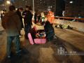 哈尔滨5环卫工被撞死