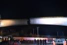 商合杭铁路跨沪汉蓉铁路转体连续梁成功转体