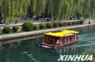 济南护城河游船暂停开放 护城河内将安装水下灯