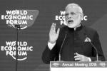 莫迪在达沃斯展示印度雄心:将中国当作赶超对象