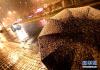上海迎初雪 26日早上积雪将更明显