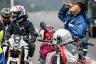摩托车骑行返乡大军