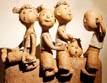 杜树杰雕塑作品