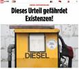 """德联邦行政法院""""驾驶禁令""""裁决遭猛批 被指危及生存、极其不公"""