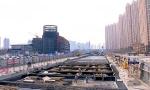 哈市地铁3号线西北半环 清真寺站和靖宇五道街站开建