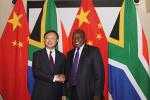 杨洁篪会见南非总统拉马福萨 对方期待与习主席早日会面