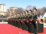 20位志愿军烈士遗骸安葬现场国歌响彻广场:魂归故里,欢迎英雄回家!