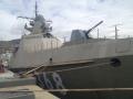 俄新战舰锈迹斑斑