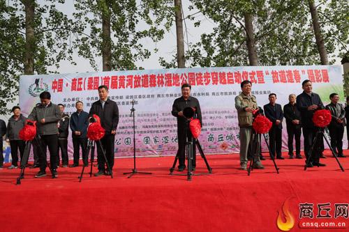 启动仪式现场。 本报记者 傅 青 摄