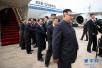 """朝美领导人抵达新加坡 """"金特会""""准备就绪"""
