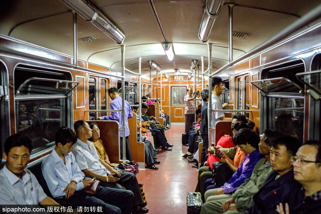A glance of Pyongyang subway