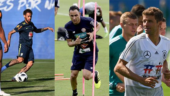 世界杯第四日前瞻:巴西德国开启世界杯征程